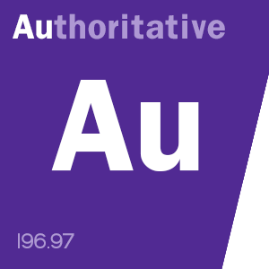 WBC content score badge: Au-thoritative